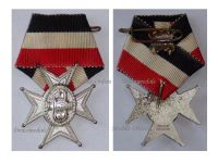 Germany WW1 Prussia Army Veterans Association Badge Fencing Instructor Cross 1914 1918 German Decoration