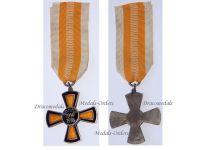 Germany WWI Somme Cross 1914 1918 2nd type by Fleck & Sohn