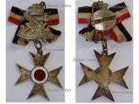 Germany WW1 Prussia Veterans Cross Membership 25 years Prussian Land Forces Military Medal WWI 1914 1918 Decoration Maker G19 Paul Kust Berlin