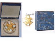 Germany Prussia WWI War Cross Honor of the Land Combatants Association Model of 1925 by H. Timm Berlin G19 Boxed