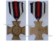 Germany Hindenburg Cross Non Combatants Maker G6 German WWI Military Medal Honor 1914 1918 Great War