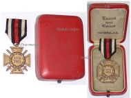 Germany Hindenburg Cross German WW1 Military Medal Honor 1914 1918 Great War Boxed