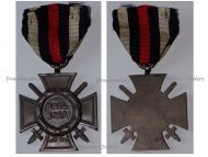 Germany WWI Hindenburg Cross with Swords for Combatants Maker G1