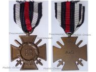 Germany WWI Hindenburg Cross with Swords for Combatants Maker A&S