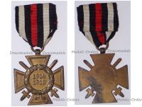 Germany WWI Hindenburg Cross with Swords for Combatants without Maker's Mark