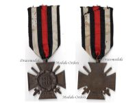 Germany WWI Hindenburg Cross with Swords for Combatants Maker RV 39 Pforzheim