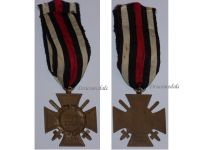 Germany Hindenburg Cross Combatants Maker RV 5 Pforzheim German WW1 Medal Honor 1914 1918 Great War