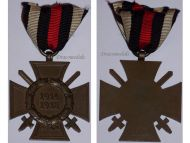 Germany WWI Hindenburg Cross with Swords for Combatants Maker D&Co