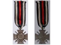 Germany WWI Hindenburg Cross with Swords for Combatants Maker G12