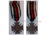 Germany WWI Hindenburg Cross with Swords for Combatants Maker G3