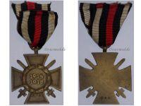 Germany Hindenburg Cross Maker G&S German WW1 Military Medal Honor 1914 1918 Great War