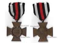 Germany Hindenburg Cross Maker GWL Wegerhoff German WW1 Medal 1914 1918 Non Combatants Great War
