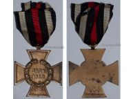 Germany Hindenburg Cross RV 3 Pforzheim German WW1 Medal 1914 1918 Non Combatants Great War