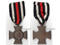 Germany Hindenburg Cross RV 61 Pforzheim German WW1 Medal 1914 1918 Non Combatants Great War