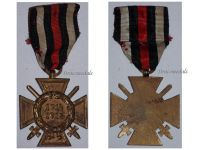 Germany Hindenburg Cross Without Maker German WW1 Military Medal Honor 1914 1918 Great War
