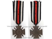 Germany WWI Hindenburg Cross with Swords for Combatants Maker O10