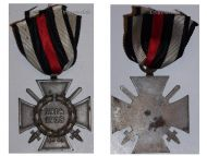Germany Hindenburg Cross Combatants Maker O11 German WW1 Military Medal Honor 1914 1918 Great War