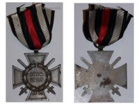 Germany WWI Hindenburg Cross with Swords for Combatants Maker O11