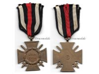 Germany WWI Hindenburg Cross with Swords for Combatants Maker PSL