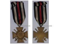 Germany Hindenburg Cross Combatants Maker RV 2 Pforzheim German WW1 Medal Honor 1914 1918 Great War