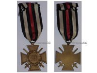 Germany WWI Hindenburg Cross with Swords for Combatants Maker RV 2 Pforzheim