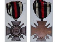 Germany WWI Hindenburg Cross with Swords for Combatants Maker RV 21 Pforzheim