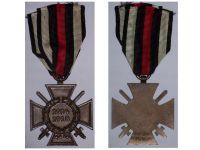 Germany Hindenburg Cross Combatants Maker RV 24 Pforzheim German WW1 Medal Honor 1914 1918 Great War