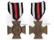 Germany Hindenburg Cross RV 45 Pforzheim German WW1 Medal 1914 1918 Non Combatants Great War