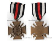 Germany Hindenburg Cross Combatants Maker Reichsverband Pforzheim 83 German WW1 Medal Honor 1914 1918 Great War