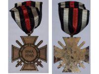 Germany Hindenburg Cross Maker T&TL German WW1 Military Medal Honor 1914 1918 Great War