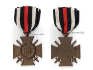 Germany WWI Hindenburg Cross with Swords for Combatants Maker G11