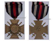 Germany WWI Hindenburg Cross with Swords for Combatants Maker ESL