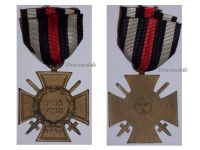 Germany WWI Hindenburg Cross with Swords for Combatants Maker ESL