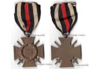 Germany WWI Hindenburg Cross with Swords for Combatants Maker G10