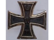 Germany Iron Cross 1914 EK1 800 silver German WW1 Medal Decoration Merit Prussia 1918 Great War