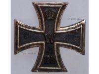 Germany Iron Cross 1914 EK1 800 silver German WW1 Medal Decoration Merit Prussia 1918 Great War