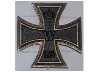 Germany Iron Cross 1914 EK1 Maker Fr. W German WW1 Medal Decoration Merit Prussia 1918 Great War