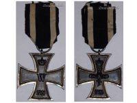 Germany Iron Cross 1914 EK2 Maker EW German WW1 Medal Decoration Merit Prussia 1918 Great War