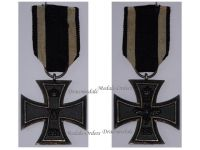 Germany Iron Cross 1914 EK2 Maker Fr German WWI Medal Decoration Merit Prussia WW1 1918 Great War