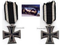 Germany Iron Cross 1914 EK2 Maker KO German WW1 Medal Decoration Merit Prussia 1918 Great War