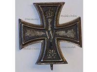 Germany WWI Iron Cross 1st Class 1914 Maker KO