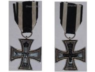 Germany Iron Cross 1914 EK2 Maker W German WW1 Medal Decoration Merit Prussia 1918 Great War