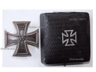 Germany Iron Cross 1914 EK1 800 silver German WW1 Medal Decoration Merit Prussia 1918 Great War Boxed
