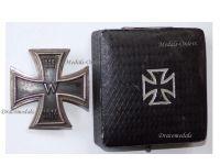 Germany Iron Cross 1914 EK1 800 silver German WW1 Medal Decoration Merit Prussia 1918 Great War Boxed