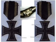 Germany Iron Cross 1914 EK2 Maker Fr German WWI Medal Decoration Merit Prussia WW1 1918 Great War