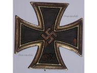NAZI Germany Iron Cross 1939 WW2 Military Medal EK1 Badge Maker Deumer WWII 1940 1945
