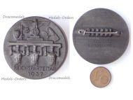 NAZI Germany WWII 9th NSDAP Party Congress Day Reichsparteitag 1937 Tinnie Badge by Wilhelm Kolwitz