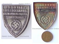 NAZI Germany WWII DAF Labor Front Job Creation Badge 1934