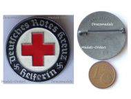 NAZI Germany WWII German Red Cross Nurse Badge for Helpers by CB