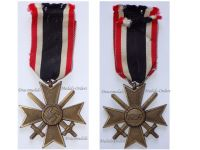 NAZI Germany WWII Military Cross for War Merit with Swords 2nd Class 1939